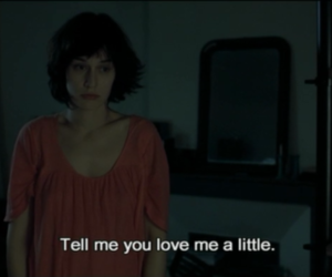 love, movie, and text image