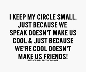 circle, quote, and friends image