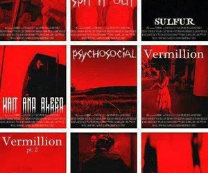 slipknot, songs, and canciones image