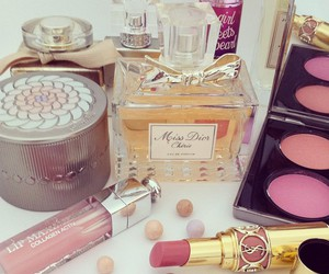 beauty, YSL, and blush image