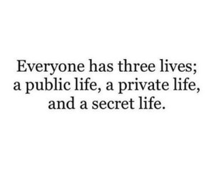 life, quotes, and secret image