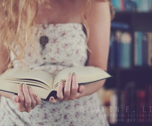 book, vintage, and girl image