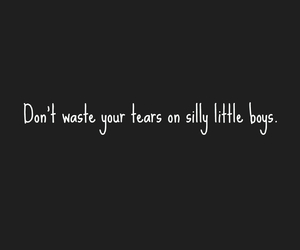 boy, cry, and sad image