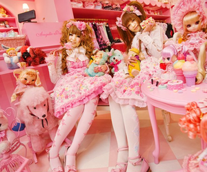 angelic pretty, girls, and japanese image