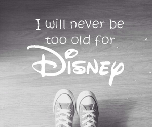 disney, phrases, and never be image