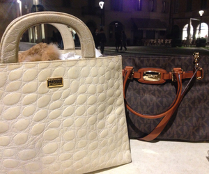 bags, fashion, and mk image
