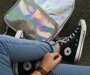 converse, grunge, and cute image