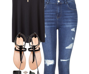 clothes, mode, and polyvore collection image