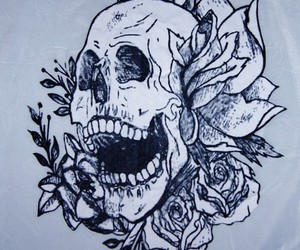 skull, style, and tattoo image