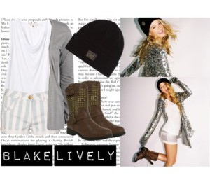 blake lively, clothes, and fashion image