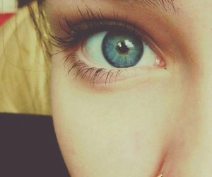 blue, piercing, and eyes image