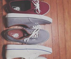 negro, vans, and zapatillas image