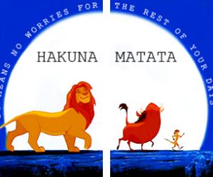 disney, timon, and the lion king image
