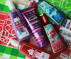 lotion, winter, and bath and body works image