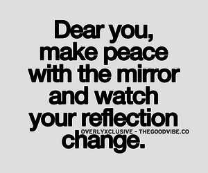 quotes and reflection image