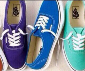 vans and colors image
