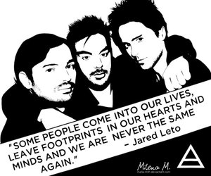 quote, 30 seconds to mars, and jared leto image