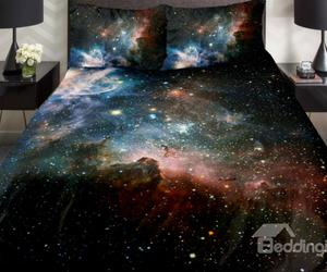 beauty, star, and bedding image