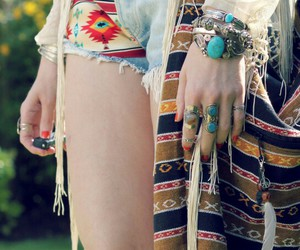 bohemian, boho, and chic image