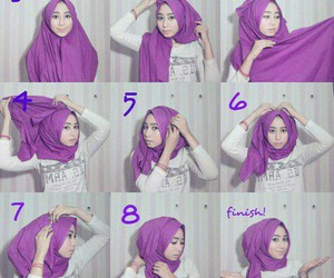 hijab and tutorial image