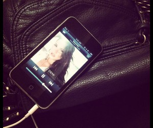 bag, demi lovato, and music image