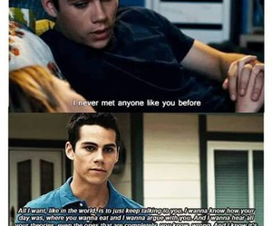 quote, dylan o'brien, and cute image