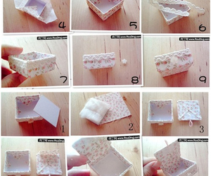diy, box, and tutorial image