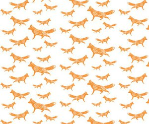 foxes, fox print, and foxprint image
