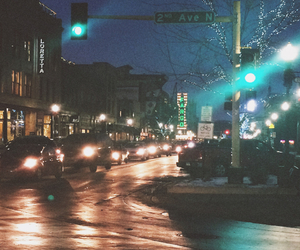 cars, christmas, and city image