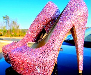 highheels and pink image