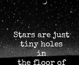 stars, heaven, and quote image