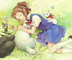 anime, ghibli, and studio ghibli image
