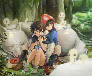 anime and ghibli image