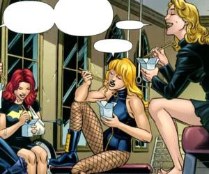 batgirl, comics, and DC image