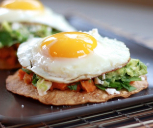 food, egg, and breakfast image