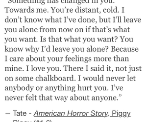 quotes, tate, and season 1 image