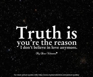 love, truth, and quote image