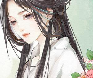anime girl, beautiful, and chinese image