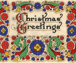 christmas card, merry christmas, and xmas greetings image
