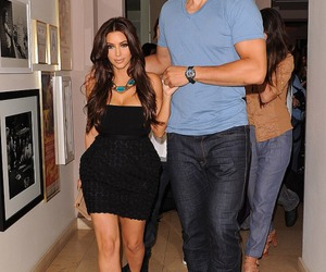 kim kardashian and kris humphries image