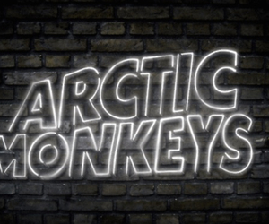 arctic monkeys and light image