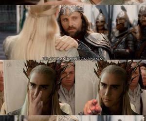 aragorn, Legolas, and LOTR image