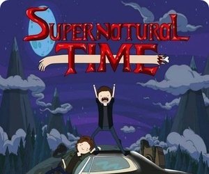 adventuretime and supernatural image