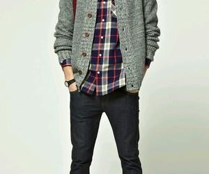 cardigan, style, and fashion image