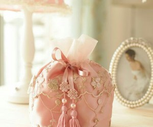pink, shabby chic, and prettypinkthings image