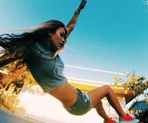 girl, skate, and sport image