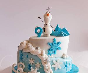 cake and olaf image