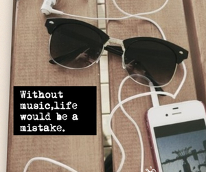 head phones, life, and music image