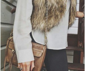 style, fur, and outfit image