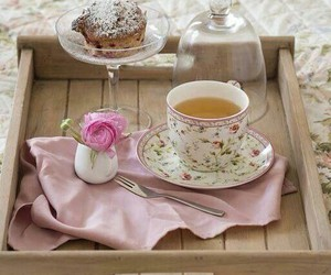 breakfast in bed and cottage charm image